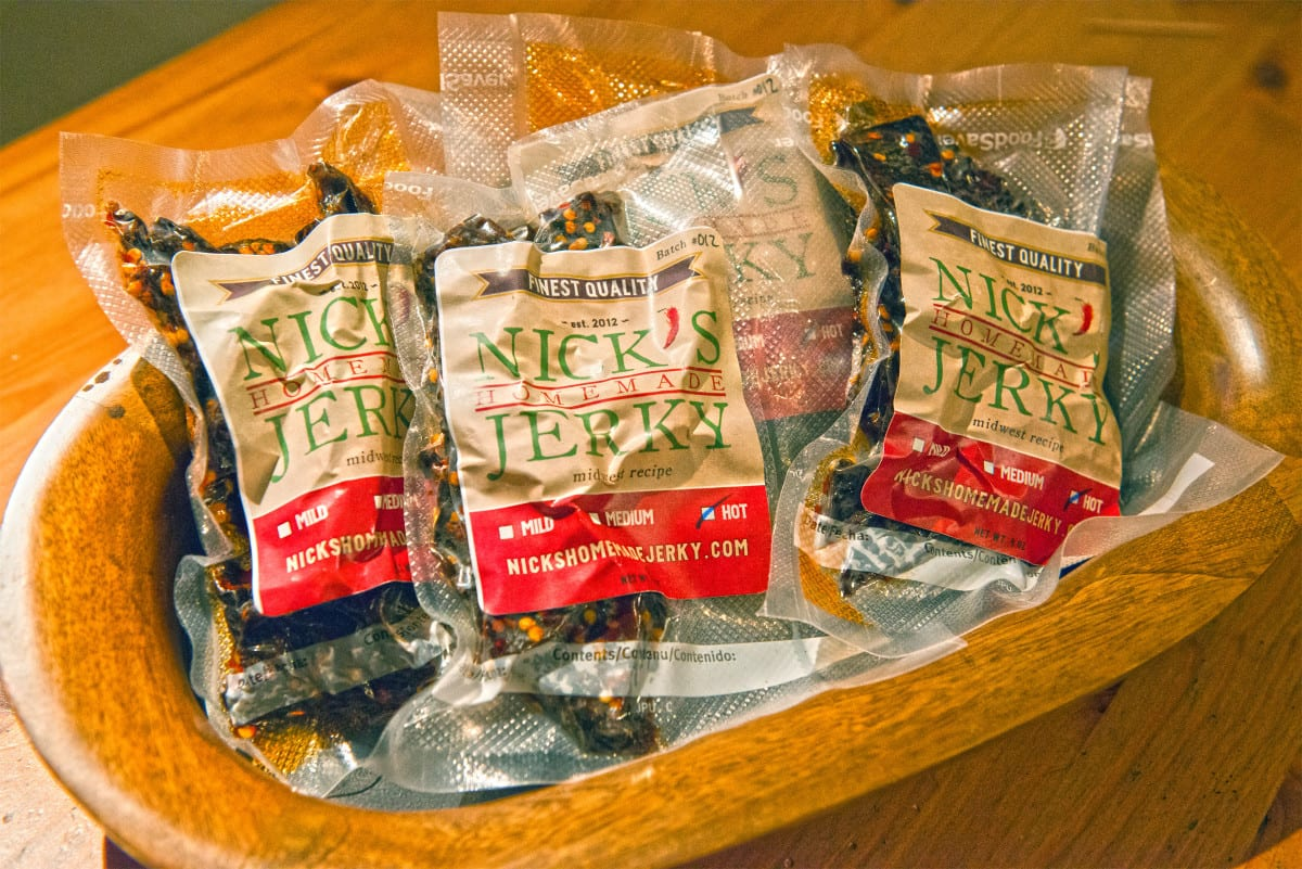 Nick's Jerky Midwest Recipe 4 Bag Special